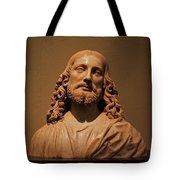 Bust Of Jesus Christ At Mfa Tote Bag