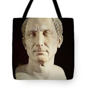Bust Of Julius Caesar Tote Bag