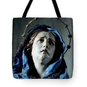 Bust Of Painful Virgin Tote Bag