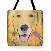 Buster Tote Bag by Pat Saunders-White