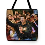Buster Posey World Series 2012 Tote Bag