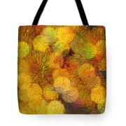 Busy Bee In The Marigolds Tote Bag