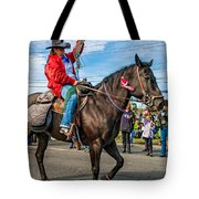 Busy Cowgirl Tote Bag