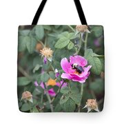 Busy In The Morning Tote Bag