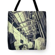 Busy Sidewalks Tote Bag