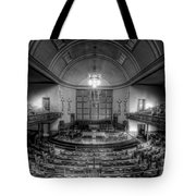Busy Silence Tote Bag