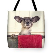 But I Don't Want A Bath Tote Bag by Edward Fielding
