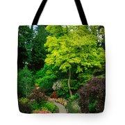 Butchart Gardens Pathway Tote Bag