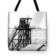 Butte Mine Shaft Tote Bag
