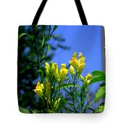 Butter And Egg Wildflower Tote Bag