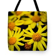 Butter Weed Rain Tote Bag