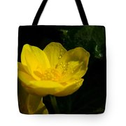Buttercup And Dew Drops Tote Bag