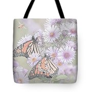Butterflies And Bee Tote Bag