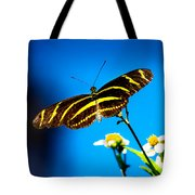 Butterflies And Blue Skies Tote Bag