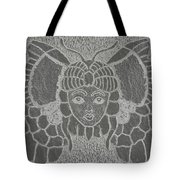 Butterflies And Girls Tote Bag