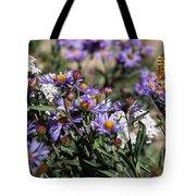 Butterflies And Wildflowers Tote Bag