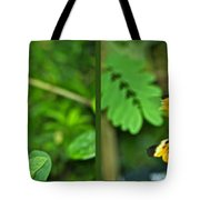 Butterflies Gentle Courtship 4 Panel Composite Tote Bag