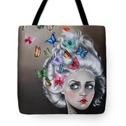 Butterflies In The Thoughts Tote Bag