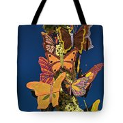 Butterflies On A 2015 Rose Parade Float 15rp047 Tote Bag