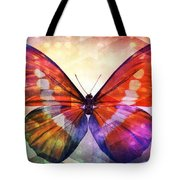 Butterfly 14-1 Tote Bag
