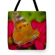Butterfly-5416-fractal Tote Bag
