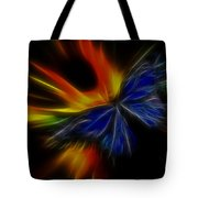 Butterfly And Flame Tote Bag