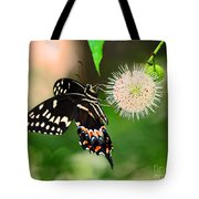 Butterfllies And The Crystal Balls Tote Bag