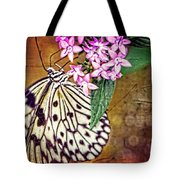 Butterfly Art - Hanging On - By Sharon Cummings Tote Bag