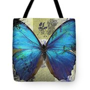 Butterfly Art - S01bfr02 Tote Bag by Variance Collections