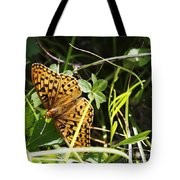 Butterfly At Signal Mountain Tote Bag