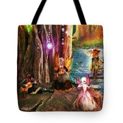 Butterfly Ball Party Tote Bag