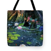 Butterfly Ball Pond Tote Bag