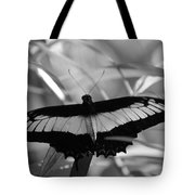 Butterfly Bat Tote Bag