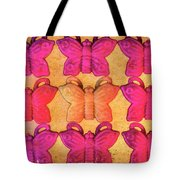 Butterfly Beads Tote Bag