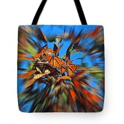 Butterfly Blast Tote Bag