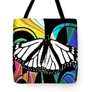 Butterfly Abstract Wall Art Decor Tote Bag