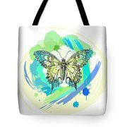 Butterfly Circles-jp2377 Tote Bag