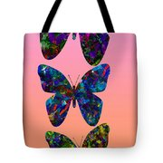 Butterfly Collage IIII Tote Bag