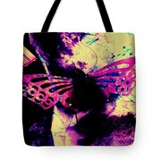 Butterfly Disintegration  Tote Bag