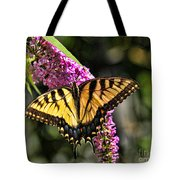 Butterfly - Eastern Tiger Swallowtail Tote Bag