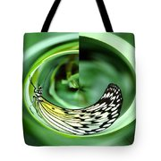 Butterfly Funnel Tote Bag