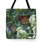 Butterfly Garden - Monarchs 01 Tote Bag