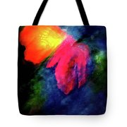 Butterfly Glow Tote Bag