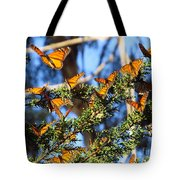 Butterfly Goodbye Tote Bag