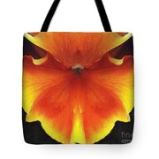 Butterfly Impression Tote Bag