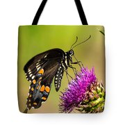 Butterfly In Nature Tote Bag