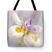Butterfly Iris Tote Bag