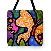 Butterfly Jungle Tote Bag by Steven Scott