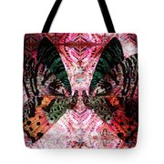 Butterfly Kaleidoscope Tote Bag