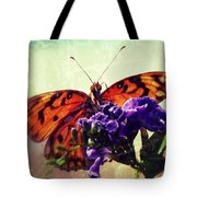 Butterfly Kissed Tote Bag
